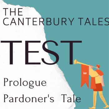 """Canterbury Tales """"The Prologue"""" 30 Question Test"""