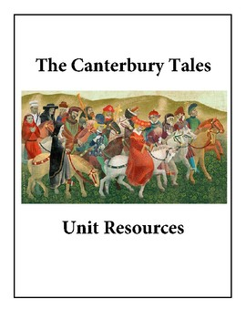 Canterbury Tales Unit Resources