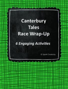 Canterbury Tales Wrap-Up Activities, ELA