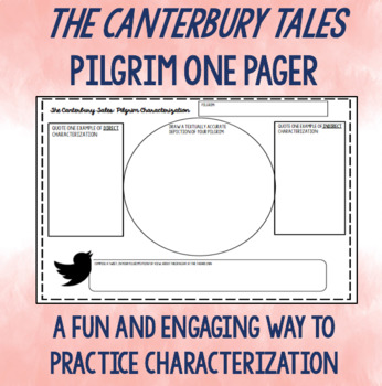 Canterbury Tales: Pilgrim One Pager
