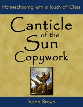 Canticle of the Sun Copywork