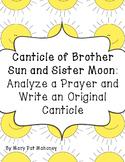 Saint Francis:  Creative Writing (Canticles)
