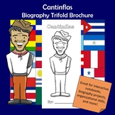 Cantinflas Biography Trifold Brochure