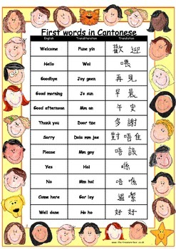 Cantonese useful words/phrases