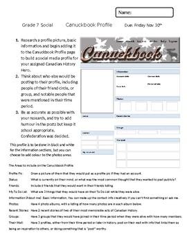 Canuckbook Rubric
