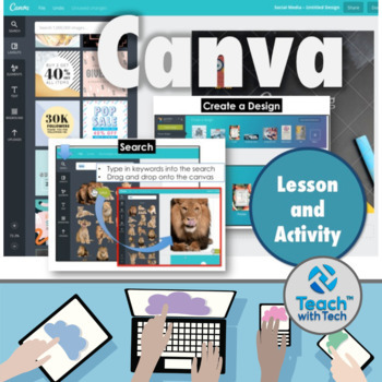 Canva Design Program Lesson Activities