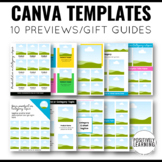 Canva Templates for Previews and Product Guides