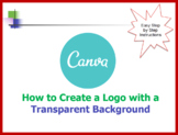 Canva - how to create a logo and make the background Transparent