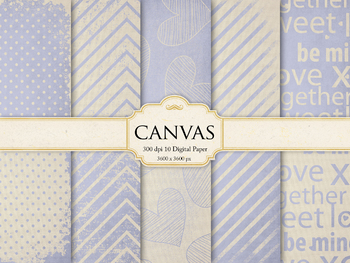 Canvas Digital Paper