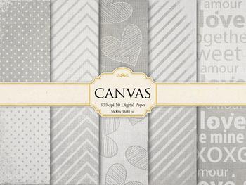 Canvas Digital Paper