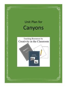 Canyons Novel Unit Plus Grammar