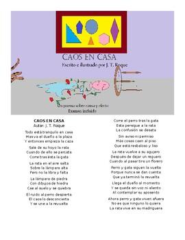 Caos en casa, un poema sobre causa y efecto de J. T. Roque