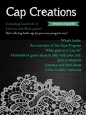 Cap Creations- Bottle Cap Resources for Literacy and Math,