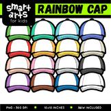 Rainbow Cap Clip Art