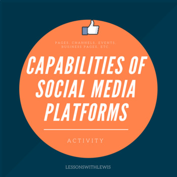 Capabilities of Social Media Platforms