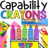 Capability Crayon Box self-esteem activity