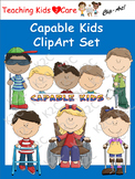 Capable Kids ClipArt Set