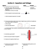 Capacitor and Voltage Worksheet