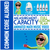 CAPACITY Worksheets ★ With Capacity Game ★ Capacity Video ★ Capacity Activities