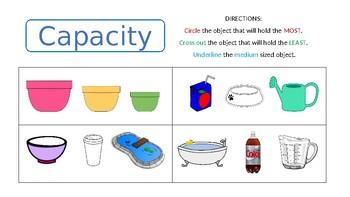 Capacity Comparing