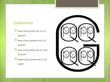 Capacity Conversion PowerPoint