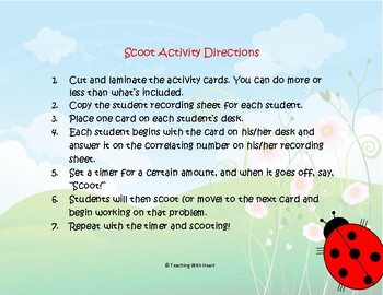 Capacity Conversions Scoot Activity/Task Cards (Metric System)
