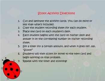 Capacity Conversions Word Problems Task Cards/Scoot Activity (Customary)