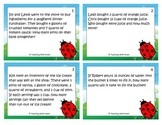 Capacity Conversions Word Problems Task Cards/Scoot Activi