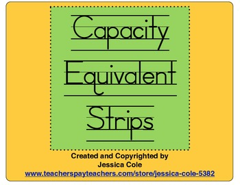 Capacity Equivalent Strips