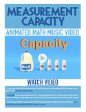 Capacity | FREE Poster, Worksheet, & Fun Video | 4th-5th Grade