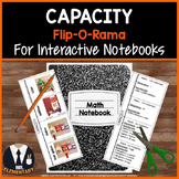 Capacity Vocabulary Interactive Notebook