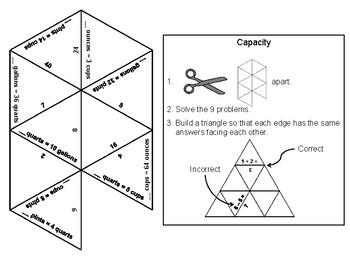 Capacity Game: Math Tarsia Puzzle