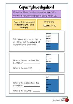 Capacity Investigations