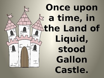 Capacity Kingdom Gallon Castle Powerpoint By Miss Zees