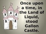 Capacity Kingdom: Gallon Castle powerpoint