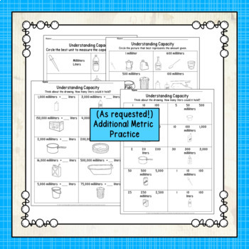 Capacity Posters and Practice