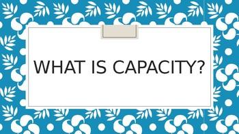 Capacity Powerpoint
