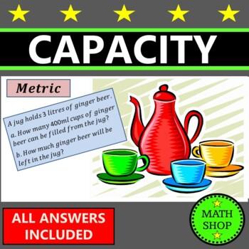 Maths - Capacity Questions – Measures - Volume of Liquids – GCSE - Revision