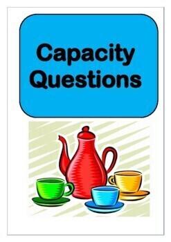 Math - Capacity Questions – Measures - Volume of Liquids – GCSE - Revision