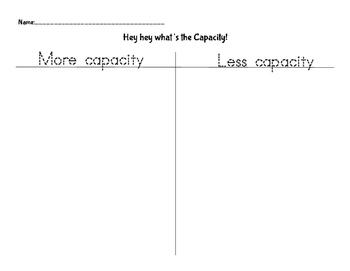 Capacity Sort