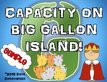 Capacity Story Sample - Gallon, Quart, Pint, Cup