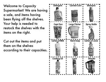 Capacity Supermarket: Capacity in Customary Units
