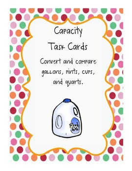 Capacity Task Cards