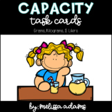 Capacity Task Cards