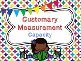 Customary Capacity Task Cards QR Code