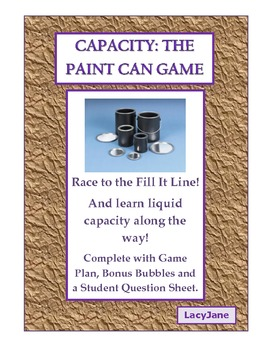 Capacity: The Paint Cans Game