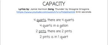 Capacity: Thunder by Imagine Dragons