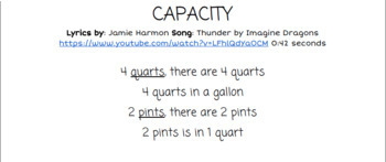 Capacity: Thunder by Imagine Dragons