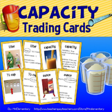 Capacity Vocabulary Trading Cards and Activities