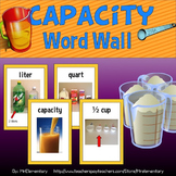 Capacity Vocabulary Word Wall